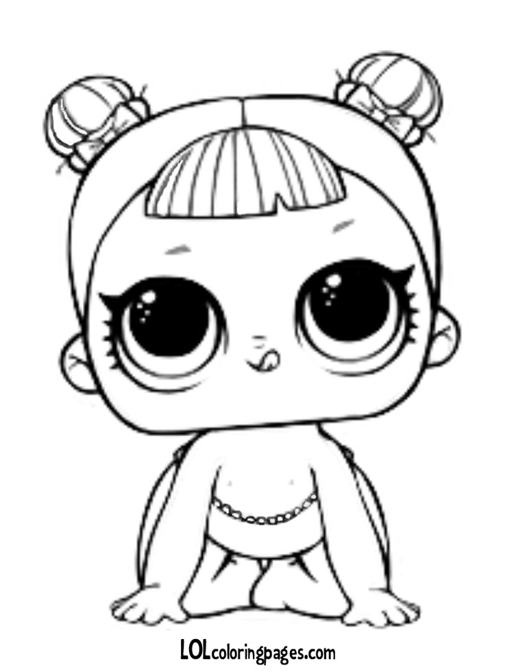 750x980 Lil Center Stage Coloring Page Lol Surprise Doll Coloring Pages