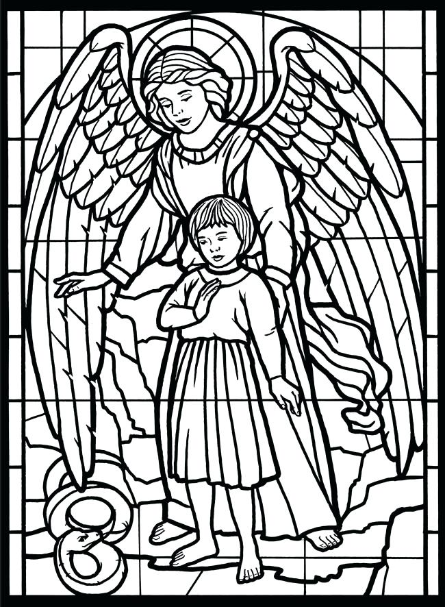 650x886 Printable Angel Coloring Pages Angel Coloring Pages For Adults