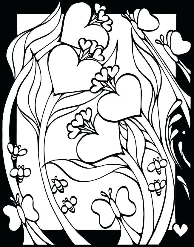 650x825 Unique Stained Glass Coloring Pages For Adults And Stain Glass