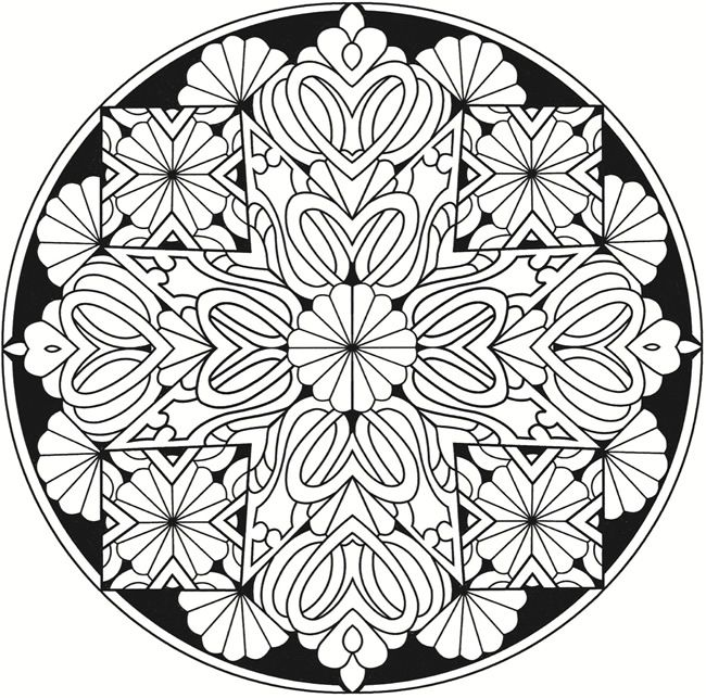 650x643 Welcome To Dover Publications Creative Haven Kaleidoscope Designs