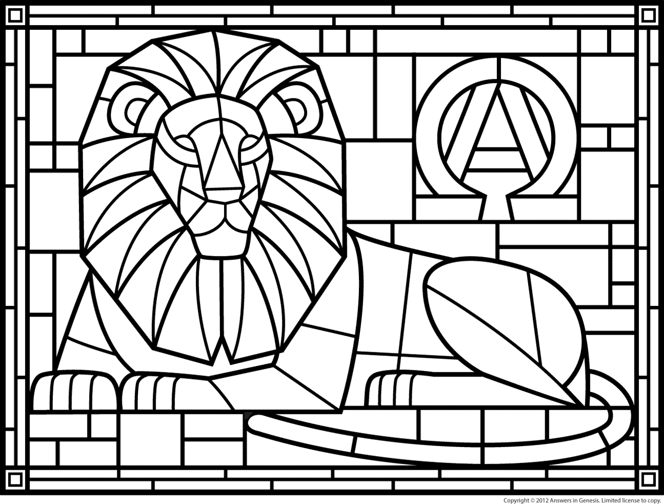 1319x1000 Printable Coloring Pages Stained Glass Patterns Page Free