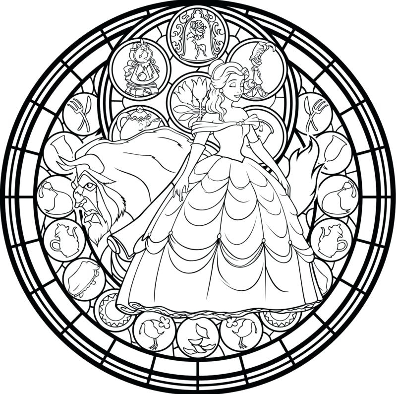 801x794 Stained Glass Coloring Books And Stained Glass Coloring Pages