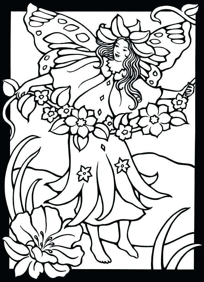 650x900 Stained Glass Coloring Page Printable Stained Glass Coloring Pages