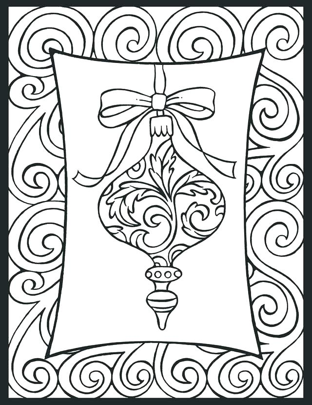 640x830 Stained Glass Coloring Page Stained Glass Coloring Pages Free