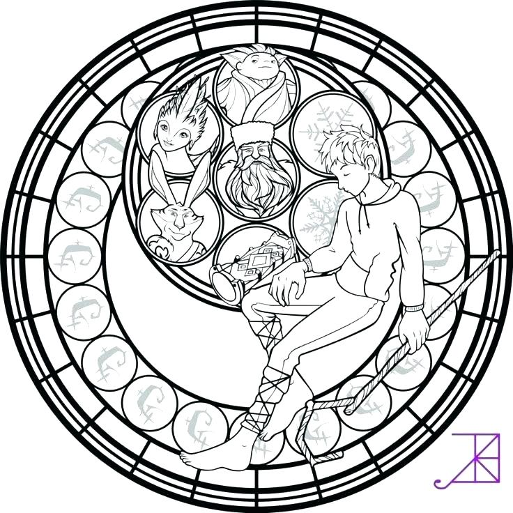 736x736 Stained Glass Coloring Pages Stained Glass Coloring Pages Easter