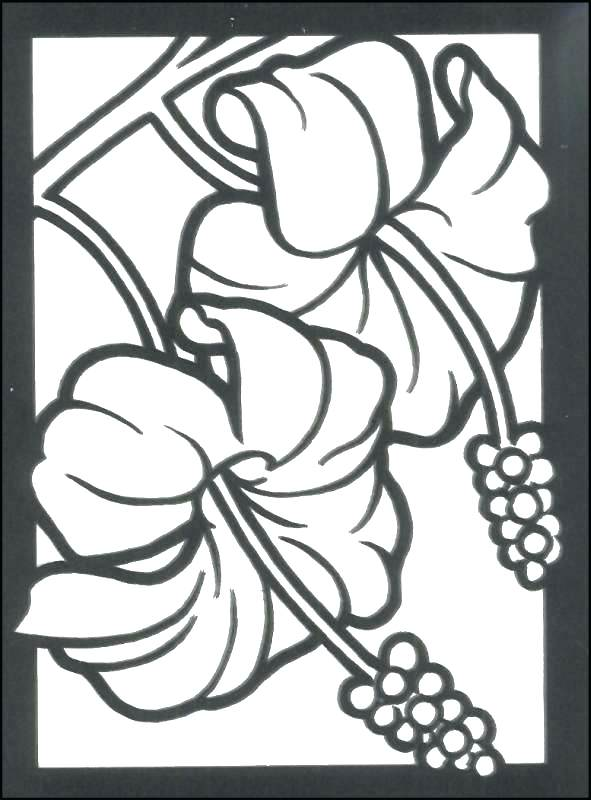 591x800 Stained Glass Coloring Pages Stained Glass Coloring Pages Stained