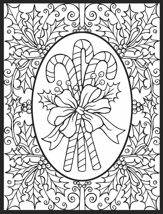 632x830 Christmas Stained Glass Coloring Pages Free Coloring Pages