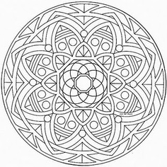 236x236 Stained Glass Coloring Pages
