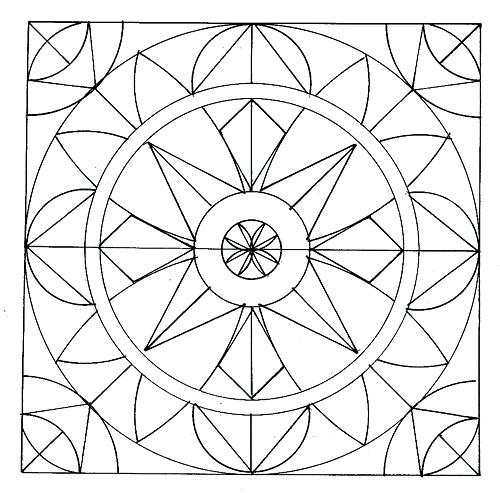 500x493 Window Coloring Page Free Printable Coloring Pages For Adults