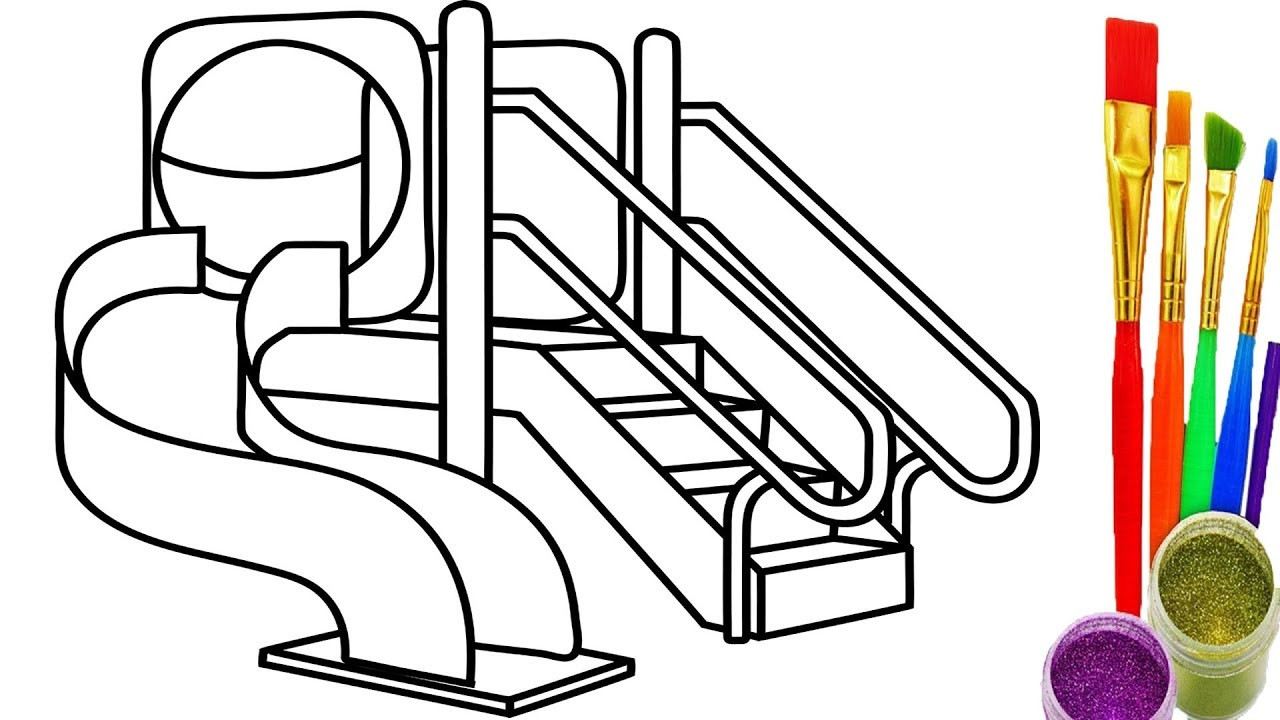 1280x720 Free Playground Coloring Pages Fresh Colouring Pages Drawing