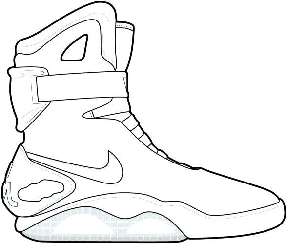 588x500 Jordan Coloring Pages Shoes Coloring Page Shoe Color Page Shoe