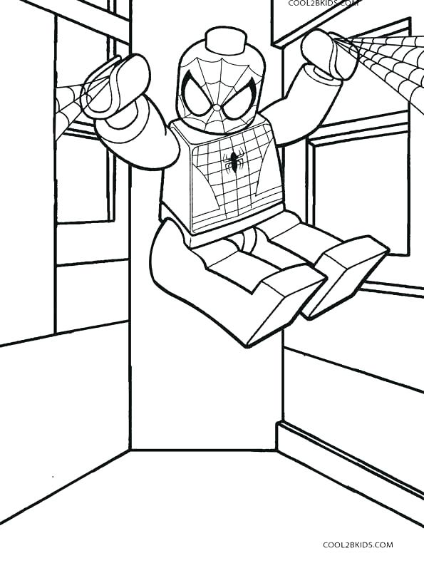 595x790 Spider Man And Sandman Coloring Pages Color Pages Color Pages