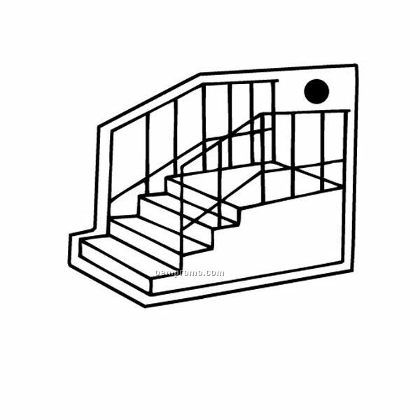 600x600 Stairs Coloring Pages