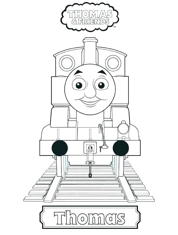 600x794 Coloring Pages Of Thomas And Friends