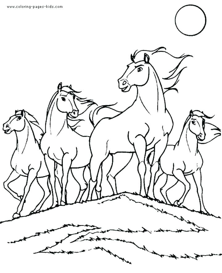 720x883 Stallion Coloring Pages Spirit Horse Coloring Pages Spirit Base
