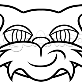 268x268 Minecraft Stampy Colouring Pages Coloring Kids Stampy Cat Coloring