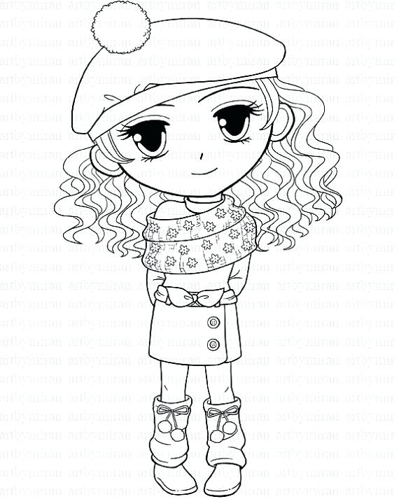 570x713 Stampy Coloring Pages Cat Girl Coloring Pages Stampylongnose
