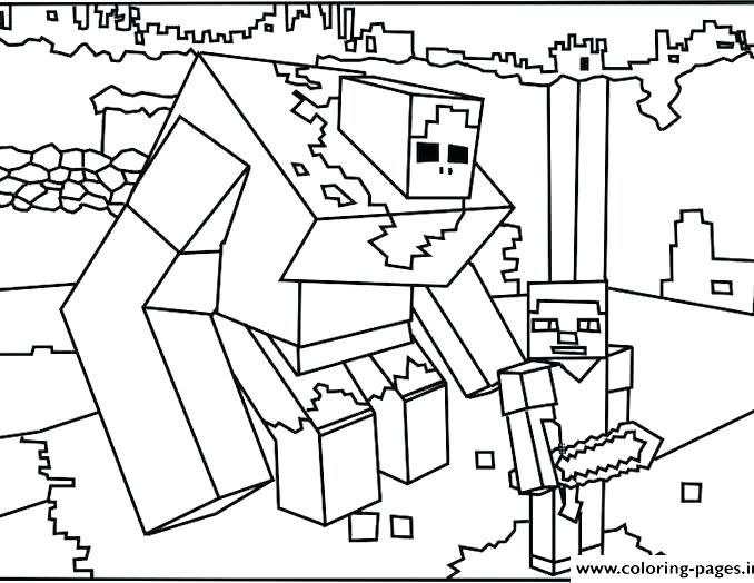 678x524 Coloring Pages Of Minecraft Coloring Pages Minecraft