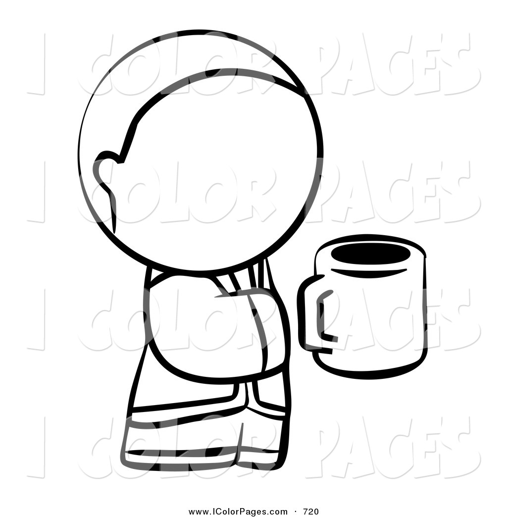 1024x1044 Cup Coloring Pages