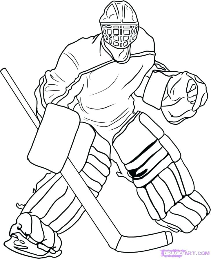 728x893 Greatest Hockey Pictures To Color Pages Affan Sporturka Hockey