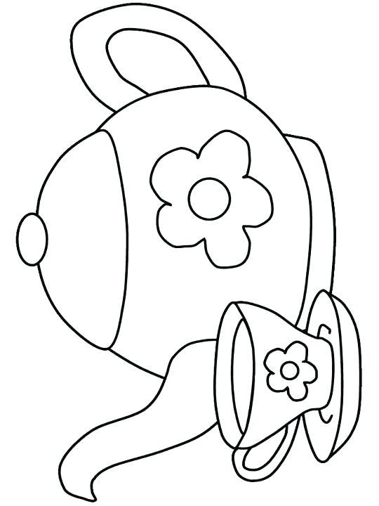 540x720 Cup Coloring Page Tea Cup Coloring Page Tea Pot Coloring Sheets