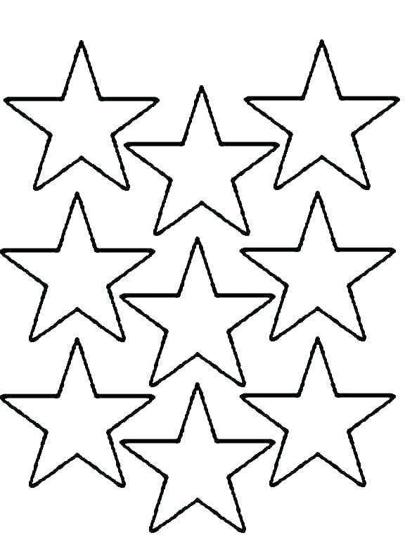graphic regarding Star Coloring Pages Printable named Star Coloring Internet pages at  Cost-free for specific