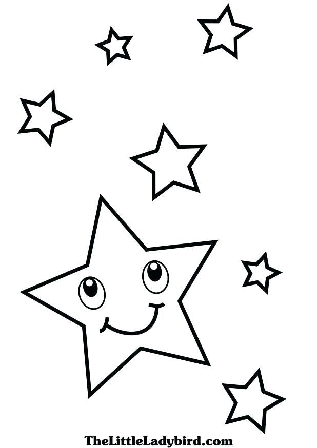 618x874 Star Coloring Pages Moon And Stars Coloring Pages Printable Adult