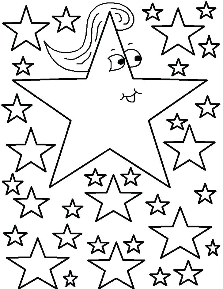728x942 Star Coloring Pages Printable Shooting Star Coloring Page Star