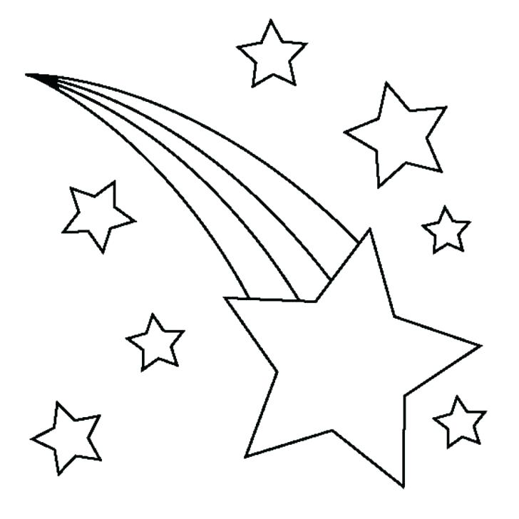 728x728 Moon And Stars Coloring Pages