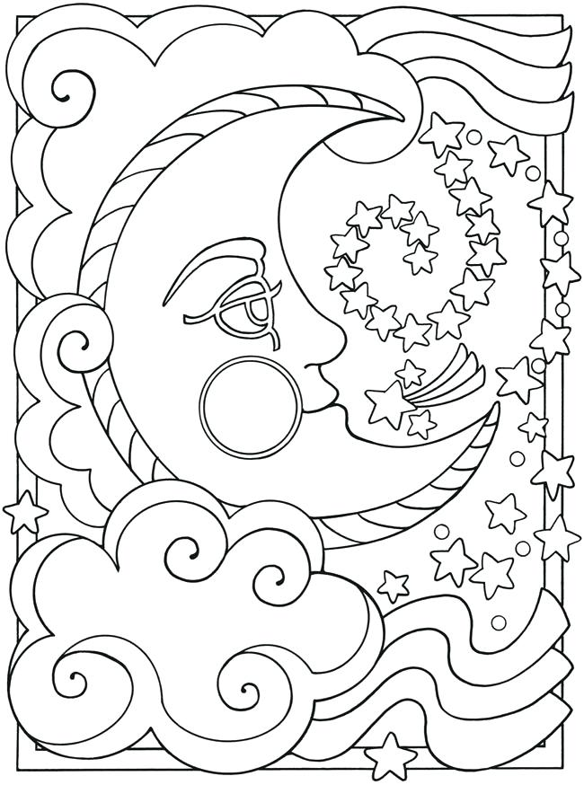 650x874 Star Coloring Pages Free Printable Star Coloring Page Star