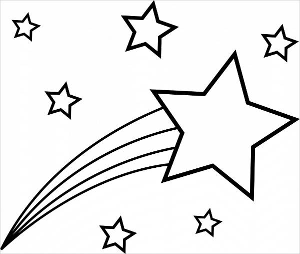 600x507 Well Suited Star Coloring Pages Printable For Preschoolers Adults