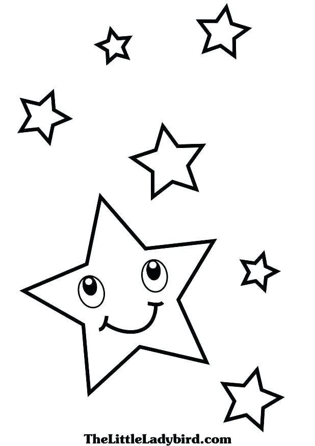 618x874 Sea Star Coloring Page