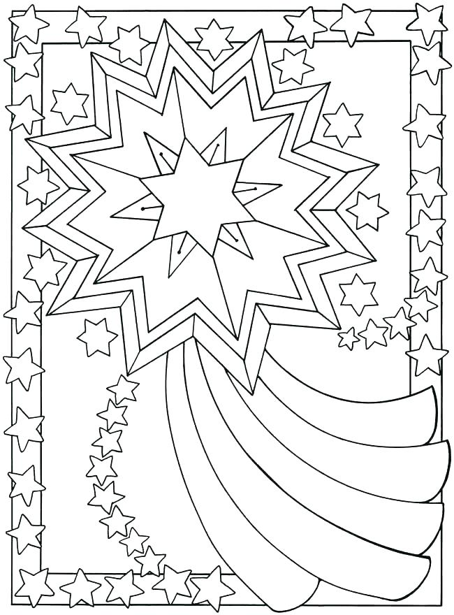 650x880 Star Coloring Pages Printable Stars Coloring Pages Star Coloring