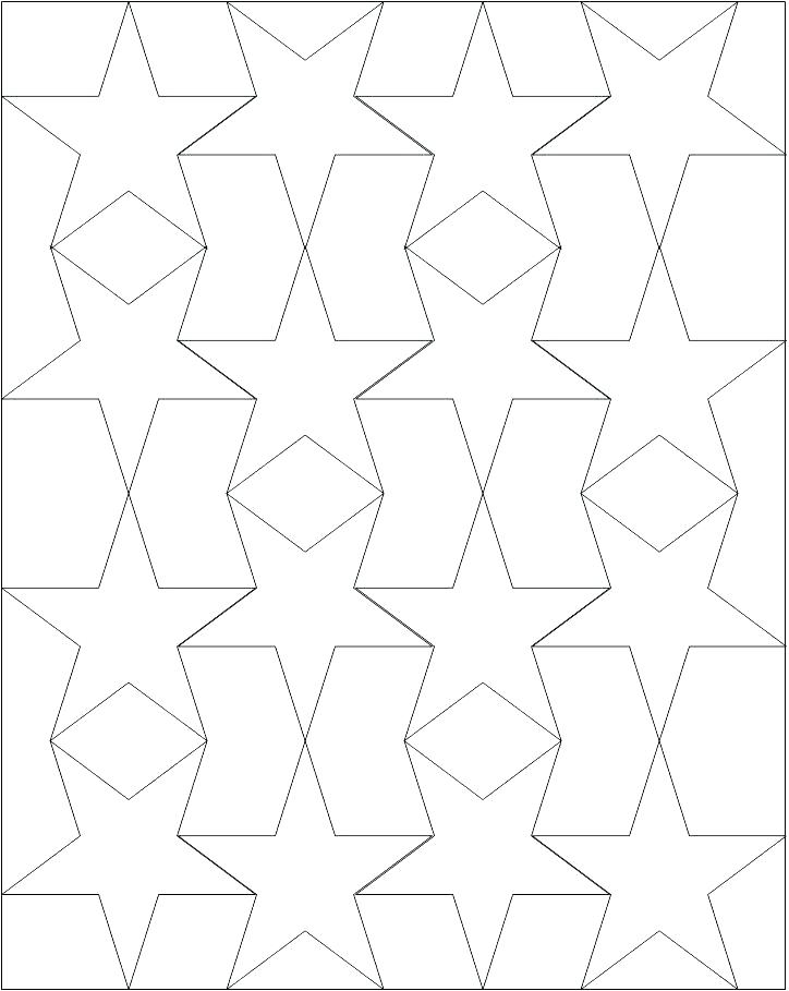 724x909 Star Coloring Pages Printable