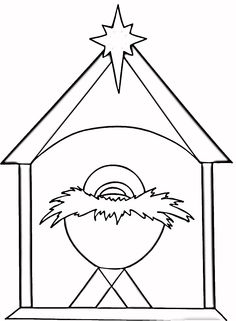 236x321 Star Of Bethlehem Religious Christmas Coloring Page, Religious