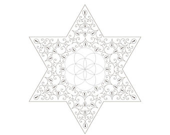 340x270 Seed Of Life Golden Spiral Star Of David Sacred Geometry