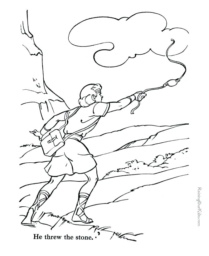 670x820 David Becomes King Coloring Pages Anointing In The Story Of King