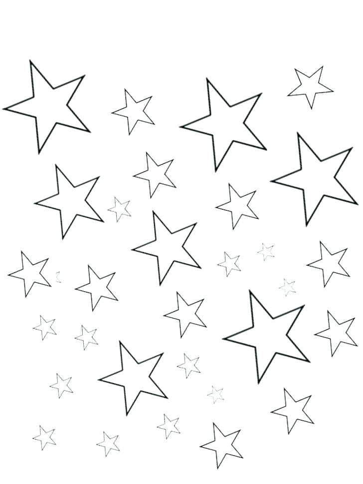 image relating to Printable Star Shape titled Star Condition Coloring Website page at  Absolutely free for