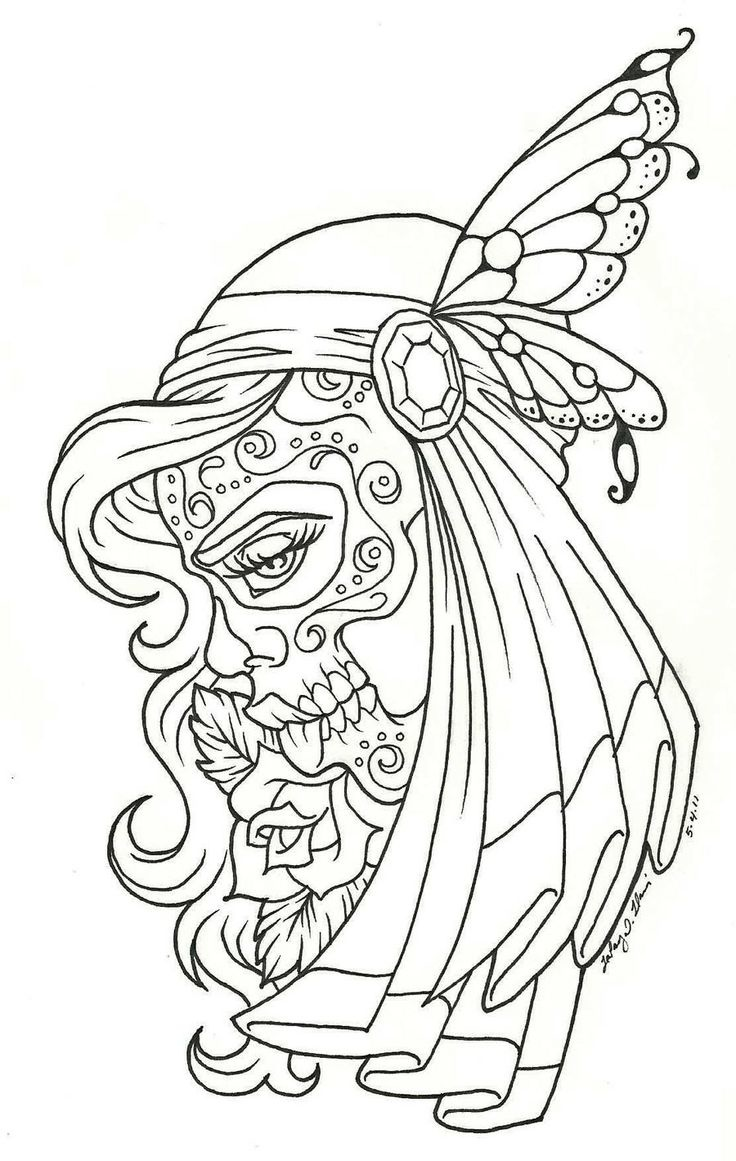736x1161 Printable Tattoo Coloring Pages For Adults Coloringstar Throughout