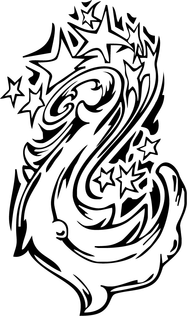 606x1022 Coloring Sheet Of A Star Galaxy Tattoo Swirl Design