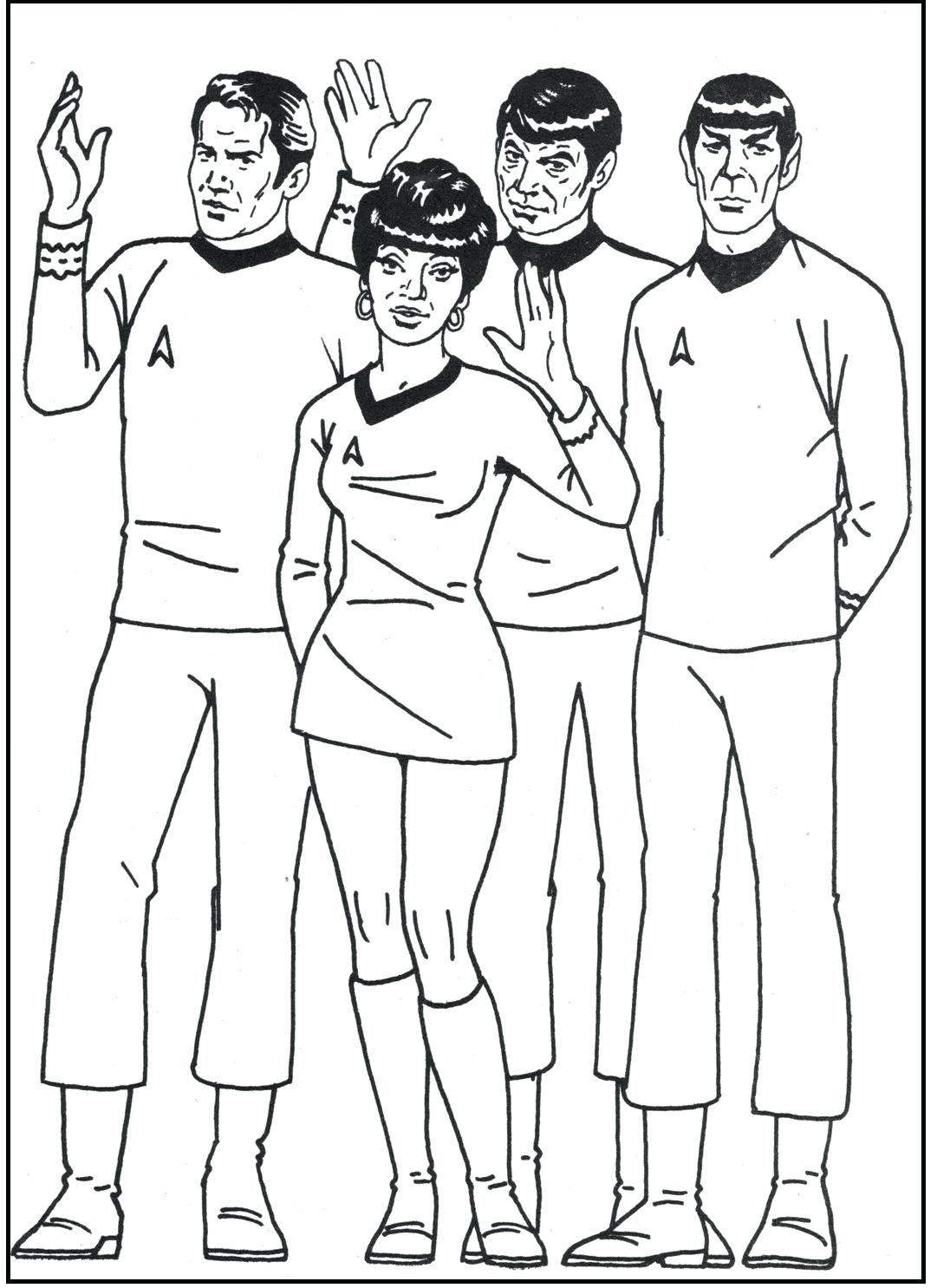 1081x1485 Star Trek Coloring Pages