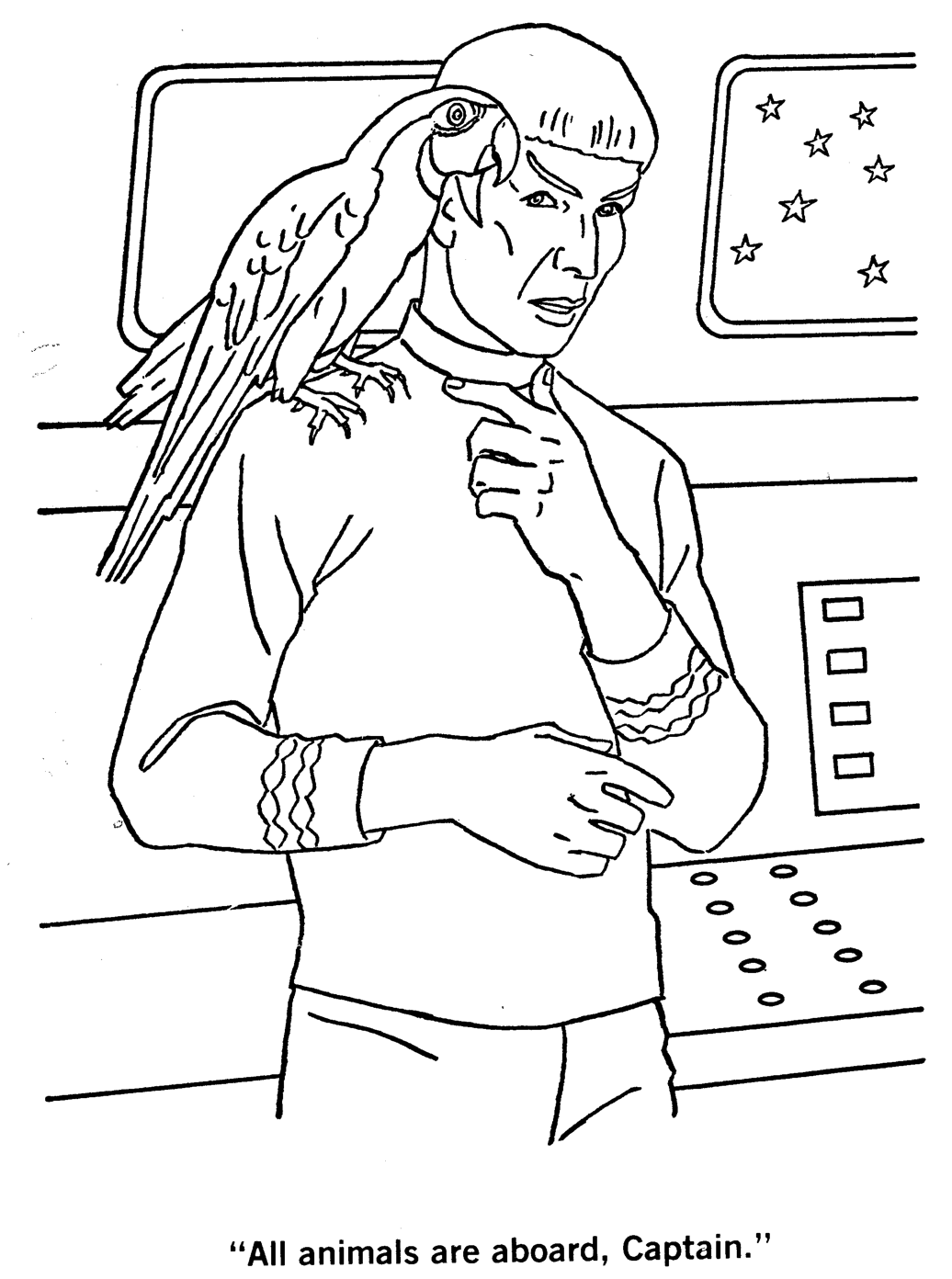 1036x1392 Star Trek Coloring Pages Star Trek The Colorin Coloring Pages