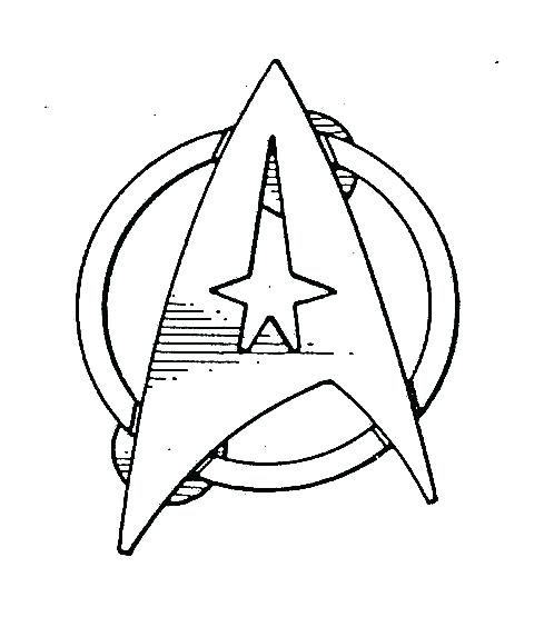 Star Trek Coloring Pages At Getdrawings Free Download