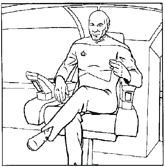 556x561 Star Trek Coloring Pages Kg Star Trek Next Generation Coloring
