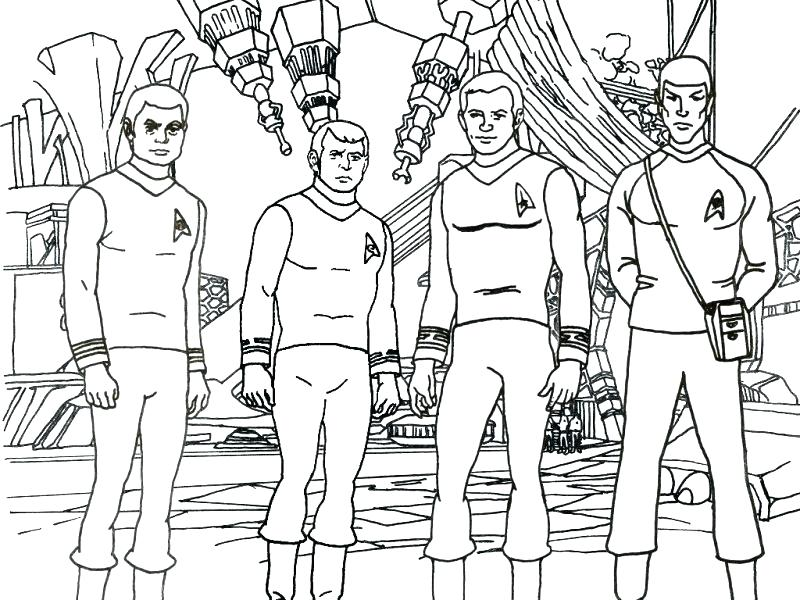 800x600 Star Trek Coloring Pages Sample From The On Star Trek Coloring