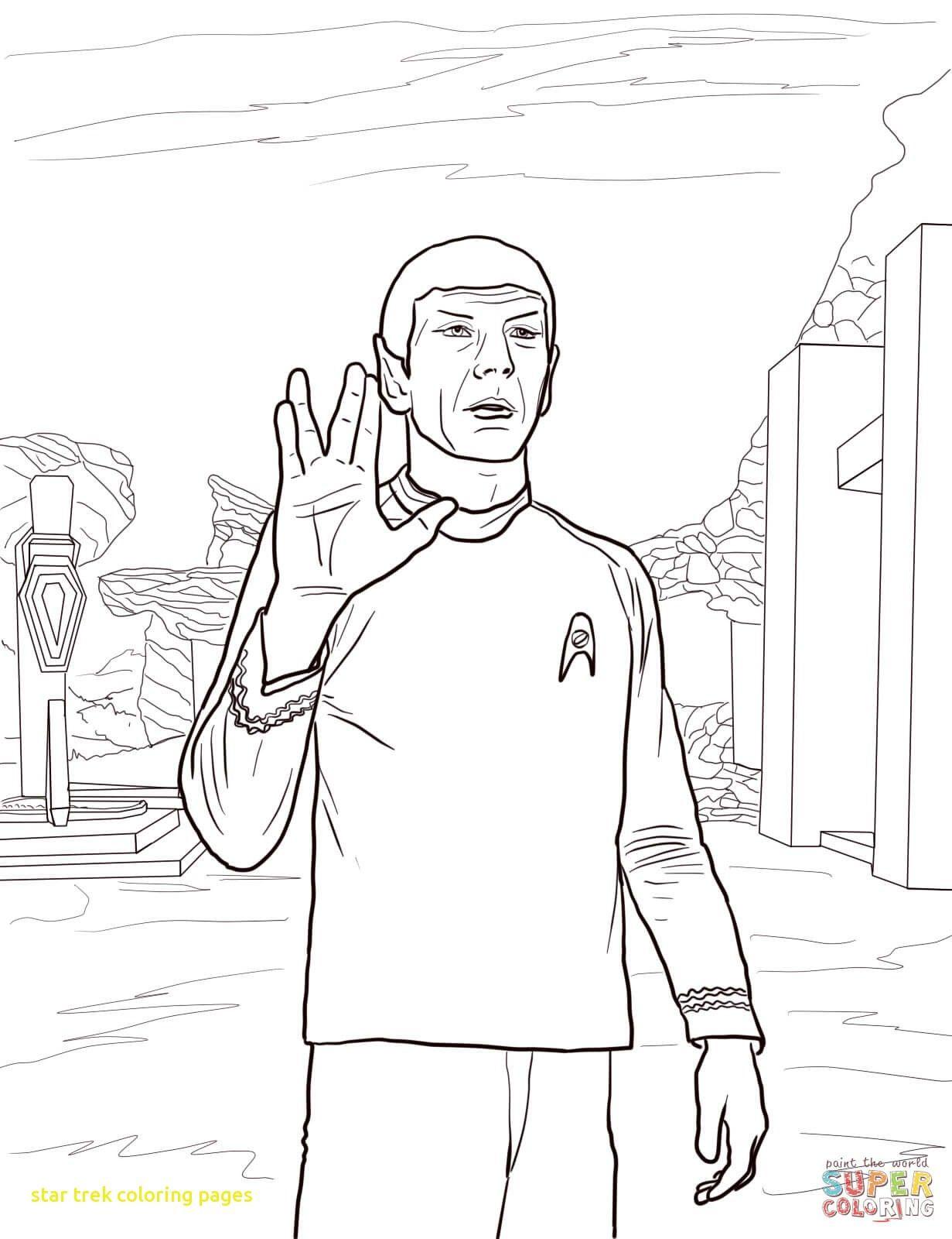 Star Trek Coloring Pages at GetDrawings | Free download