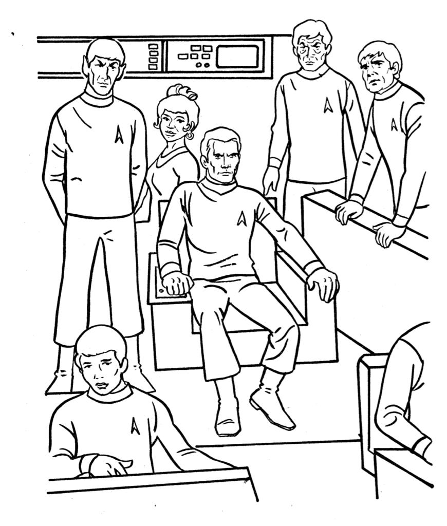 870x1024 Star Trek Coloring Pages With Wallpaper Desktop Mayapurjacouture