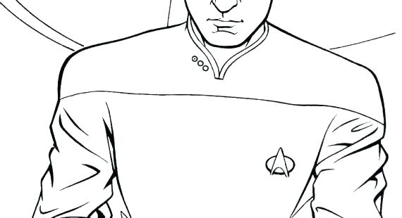 570x310 Star Trek Next Generation Coloring Pages Star Trek Coloring Pages