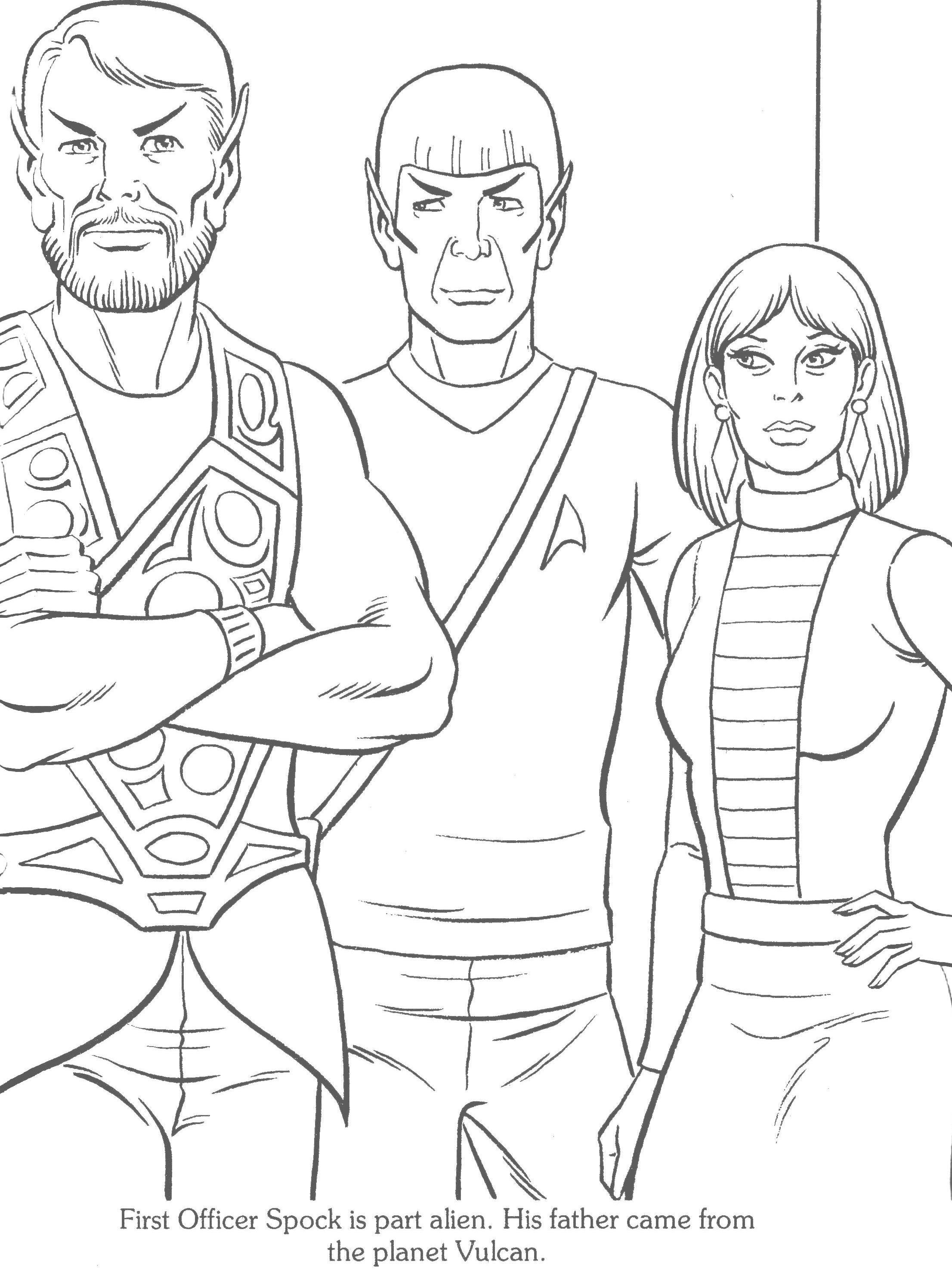 2212x2950 Star Trek Staying Inside The Star Trek Coloring Book Lines