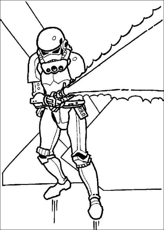569x796 Star Wars Coloring Page
